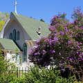 Beautiful Victorian Church In Manitou Springs by Steve Krull