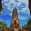 Beautiful Wat Phra Ram Temple In Ayutthaya, Thailand  by Sam Antonio Photography