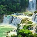 Beautiful Waterfall Crystal Waters by Lyriel Lyra