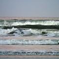 Beautiful Waves At New Smyrna by D Hackett
