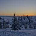 Beautiful Winter Sunrise by Brian Kamprath