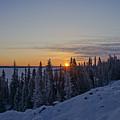 Beautiful Yellowknife Sunrise by Brian Kamprath