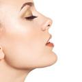 Beautiful Young Woman Face Profile Closeup by Oleksiy Maksymenko