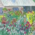 Beauty In The Garden by Marcy Brennan