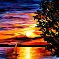Beauty Of Night by Leonid Afremov