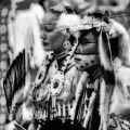 Pow Wow Beauty Of The Past by Bob Christopher