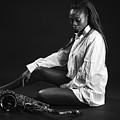 Beauty With Sax by Lasse Ansaharju