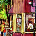 Beautys Luncheonette Montreal Diner by Carole Spandau