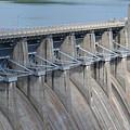 Beaver Dam Spillway Gates by James Pinkerton
