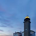 Beavertail Lighthouse by Bryan Bzdula