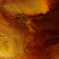 Becoming - Abstract Art - Triptych 3 Of 3 by Jaison Cianelli