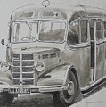 Bedford Ob Coach Of The Forties. by Mike Jeffries
