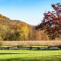 Bedford, Pa Fall Landscape by Kathleen K Parker