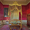Bedroom At Holkham Hall by Chris Thaxter