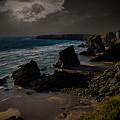 Bedruthan Cornwall by Martin Newman