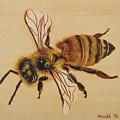 Bee Ix Delphine by Linda Wandt