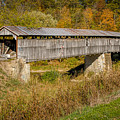 Beech Fork Or Mooresville Covered Bridge by Jack R Perry