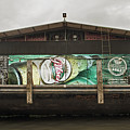 Beer Barge - Iquitos, Peru by Allen Sheffield