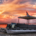 Beer Can Island Sunset by Allen Williamson
