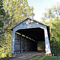 Beeson Covered Bridge Indiana by Steve Gass