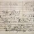 Beethoven Manuscript by Granger