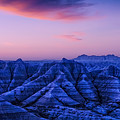 Before Sunrise, Badlands National Park by Jerry Fornarotto
