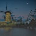 Before The Dawn, Kinderdijk by Sinisa CIGLENECKI