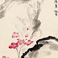 Begonia Flowers by Zhang Daqian