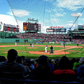Behind Home Plate At Fenway by Autism Spectrum Counseling