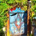 Behind The Blue Door by Barbara Snyder