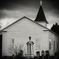 Behind The Church by Marvin Borst