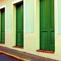 Behind The Green Doors by Debbi Granruth