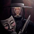 Behind This Mask by Katelynn Johnston