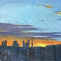 Bei Jing Sunset by Jie Yang