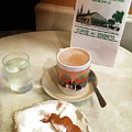 Beignet And Coffee At Cafe Du Monde by Art Spectrum