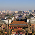 Beijing Central Axis Skyline, China by Huang Xin