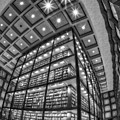 Beinecke Rare Book And Manuscript Library II Bw by Susan Candelario