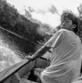 ...being Followed On The Churun River In Venezuela.... by Paul Vitko