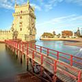 Belem Tower Lisbon by Benny Marty