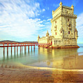 Belem Tower Reflects by Benny Marty