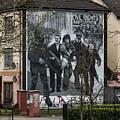 Belfast Mural - Civil Rights Association - Ireland by Jon Berghoff