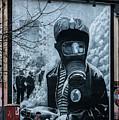 Belfast Mural - Face Mask - Ireland by Jon Berghoff