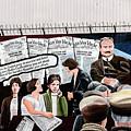 Belfast Mural - Sledge Hammer - Ireland  by Jon Berghoff