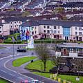 Belfast Mural - Derry Neighborhood - Ireland by Jon Berghoff