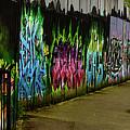 Belfast - Painted Wall - Ireland by Jon Berghoff