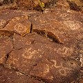 Belfast Petroglyph 6 by Michele  James