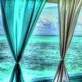 Belize Curtains #1 by Jim Wagner