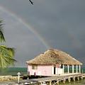 Belize Double Rainbow by Jessica Estrada