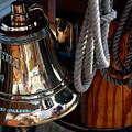 Bell On Schooner Virginia by Gene Sizemore