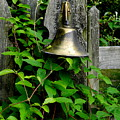 Bell On The Garden Gate  by Arlane Crump